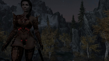 Aness in her new found armor