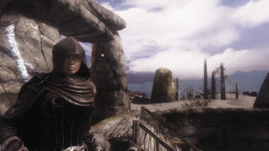 For once sunny in Solstheim