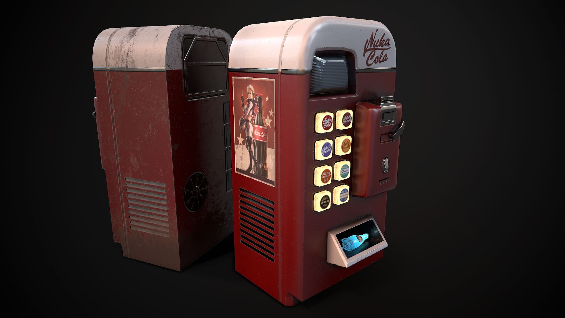 f4nv nuka cola vending machine some more renders at fallout 4
