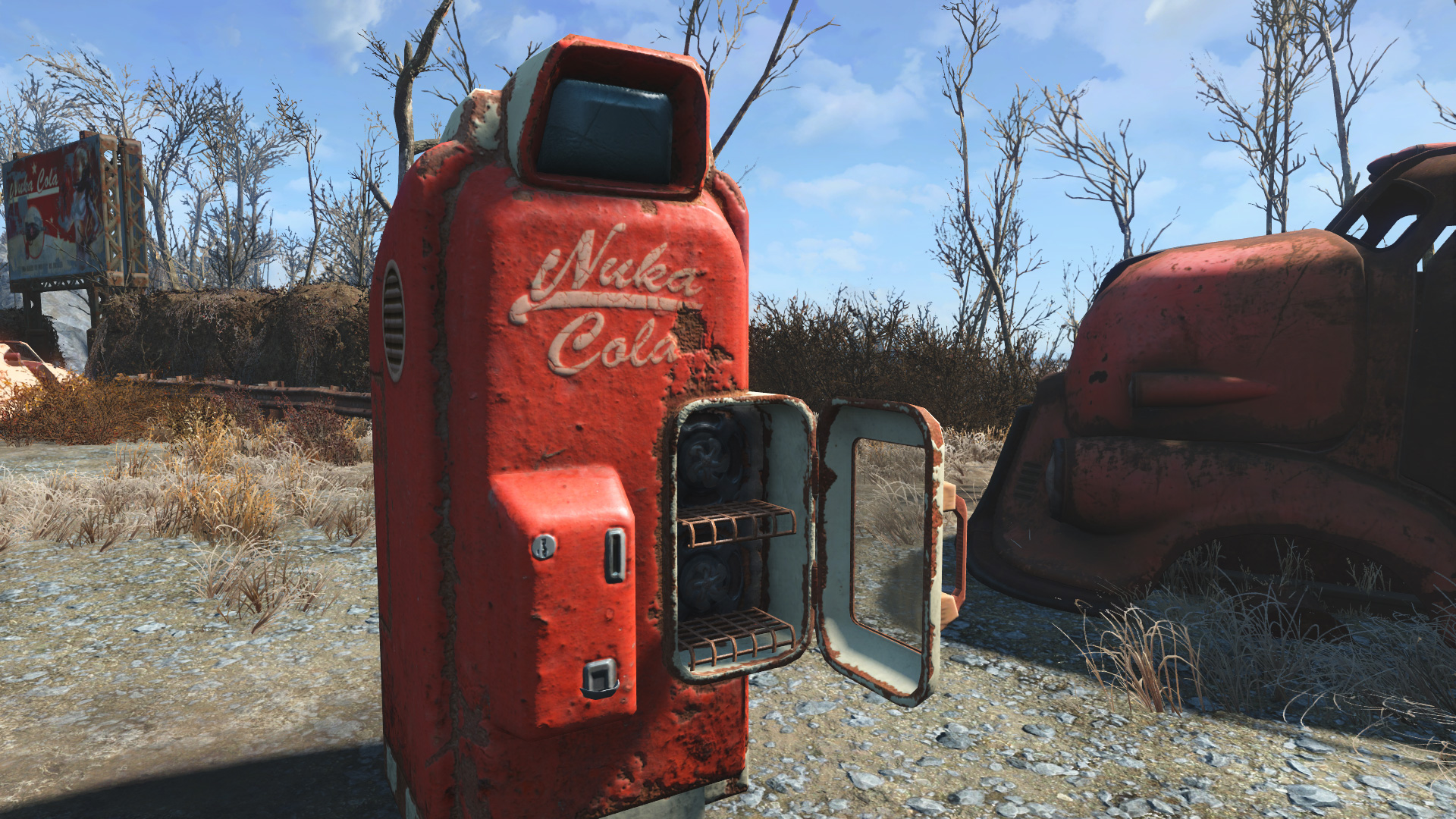 ojo bueno 4k nuka cola machine released at fallout 4 nexus mods