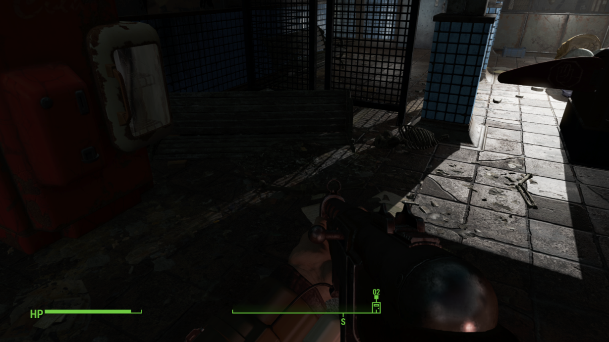Less brighter PipBoy flashlight please! - Fallout 4 Mod