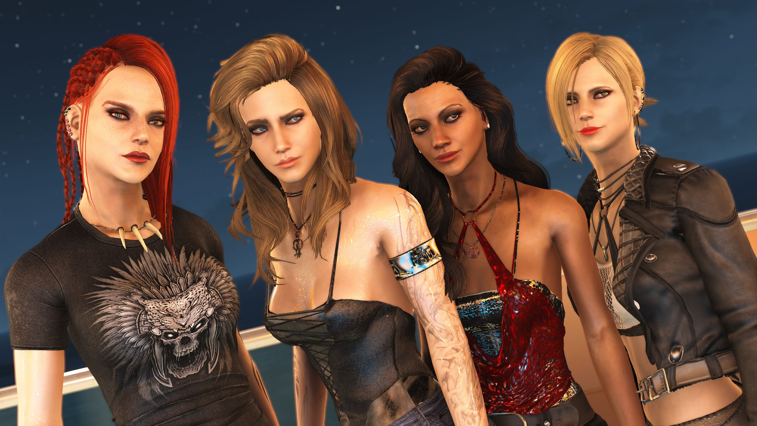 Girls Just Want To girls just want to have fun at fallout 4 nexus - mods and