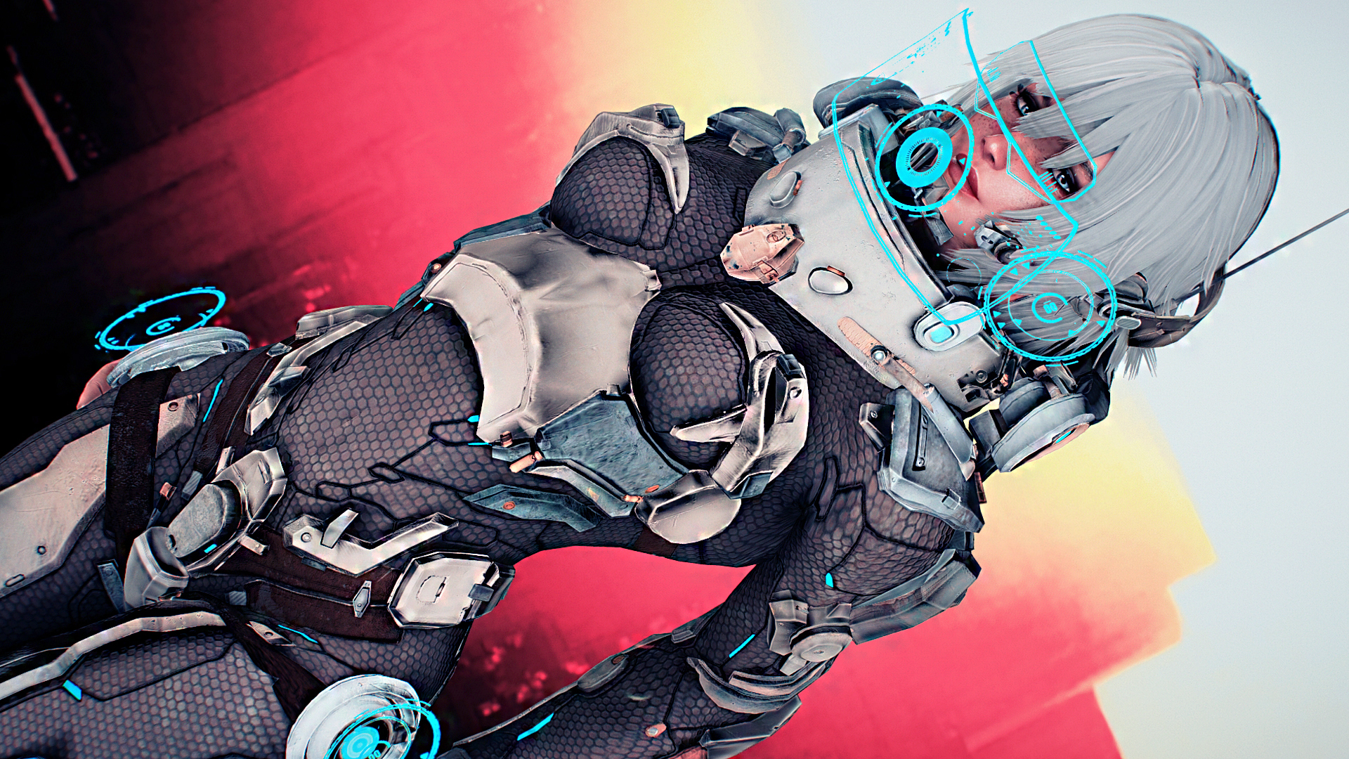 Cyber Soldier Outfit