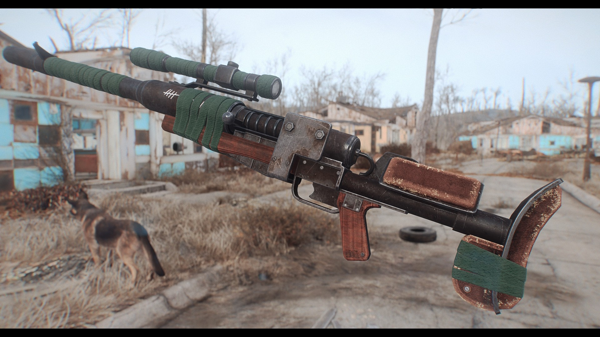 Handmade Anti Materiel Rifle In Game