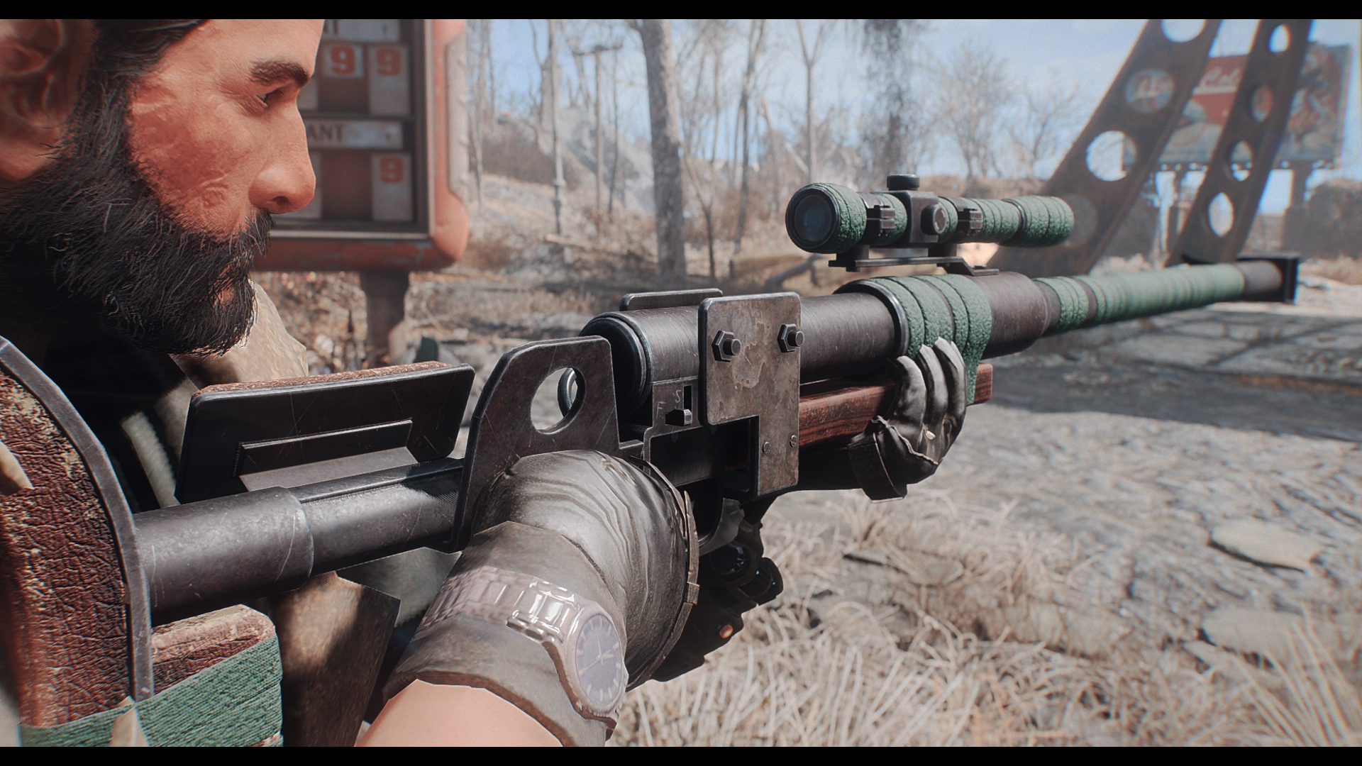 Anti Materiel Rifle handmade anti-materiel rifle redux it's alive at fallout 4