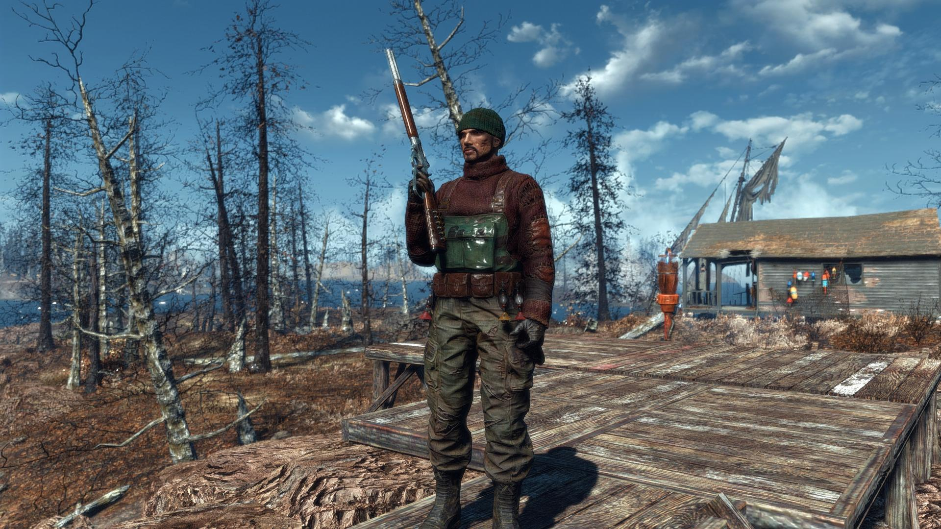 Far Harbor Modding Outfits At Fallout 4 Nexus Mods And Community