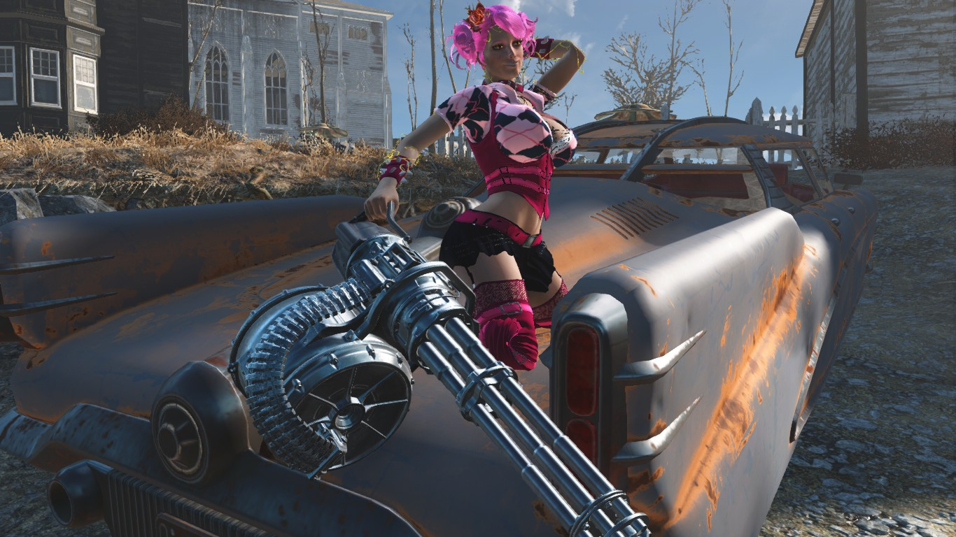 Anime Girl At Fallout 4 Nexus Mods And Community