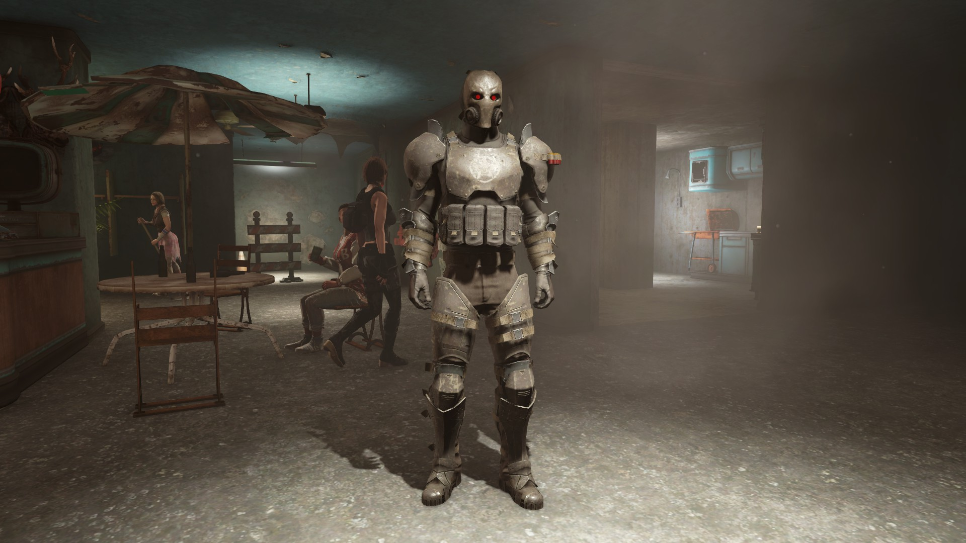 how to become a mercenary in fallout 4