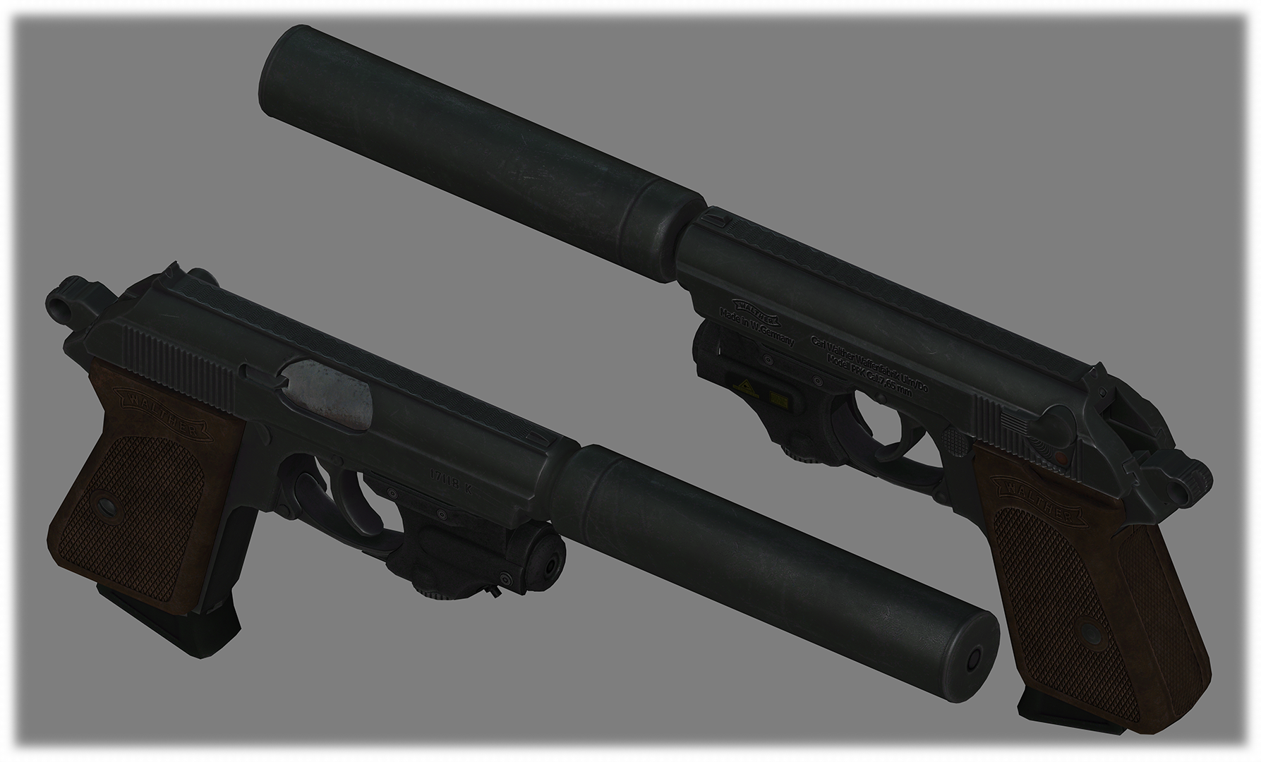 Walther PPK --- Deliverer Replacement --- at Fallout 4 Nexus