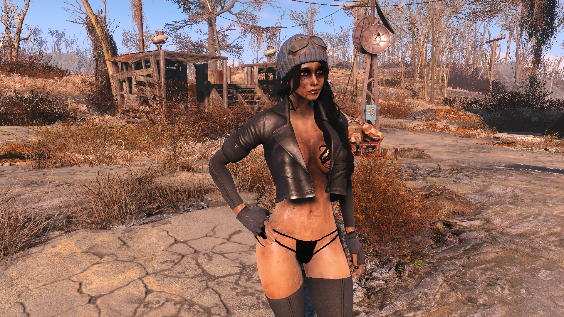 Piper needs a bath at Fallout 4 Nexus - Mods and community