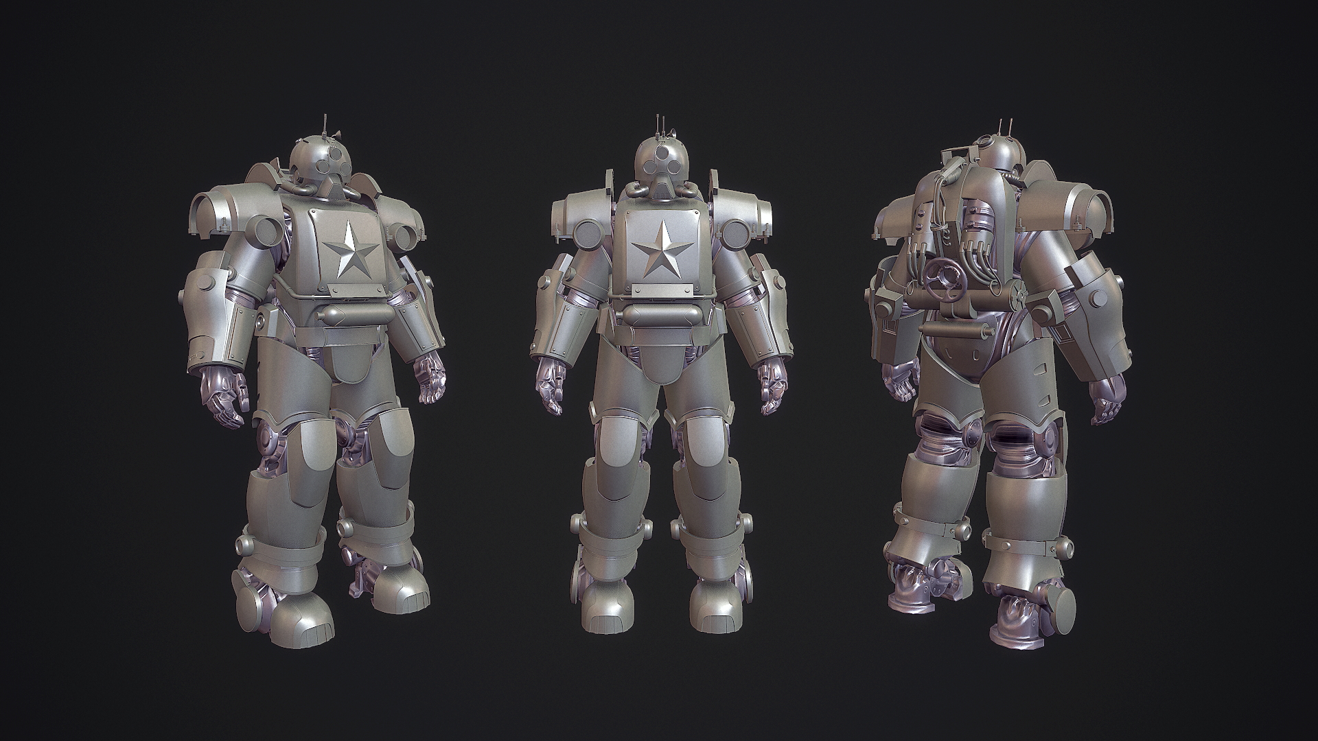 Red Shift Power Armor