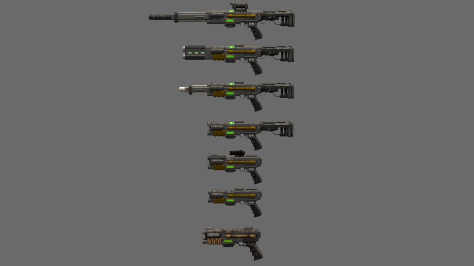 wip weapon plasma defender and all weapon mods at fallout 4 nexus