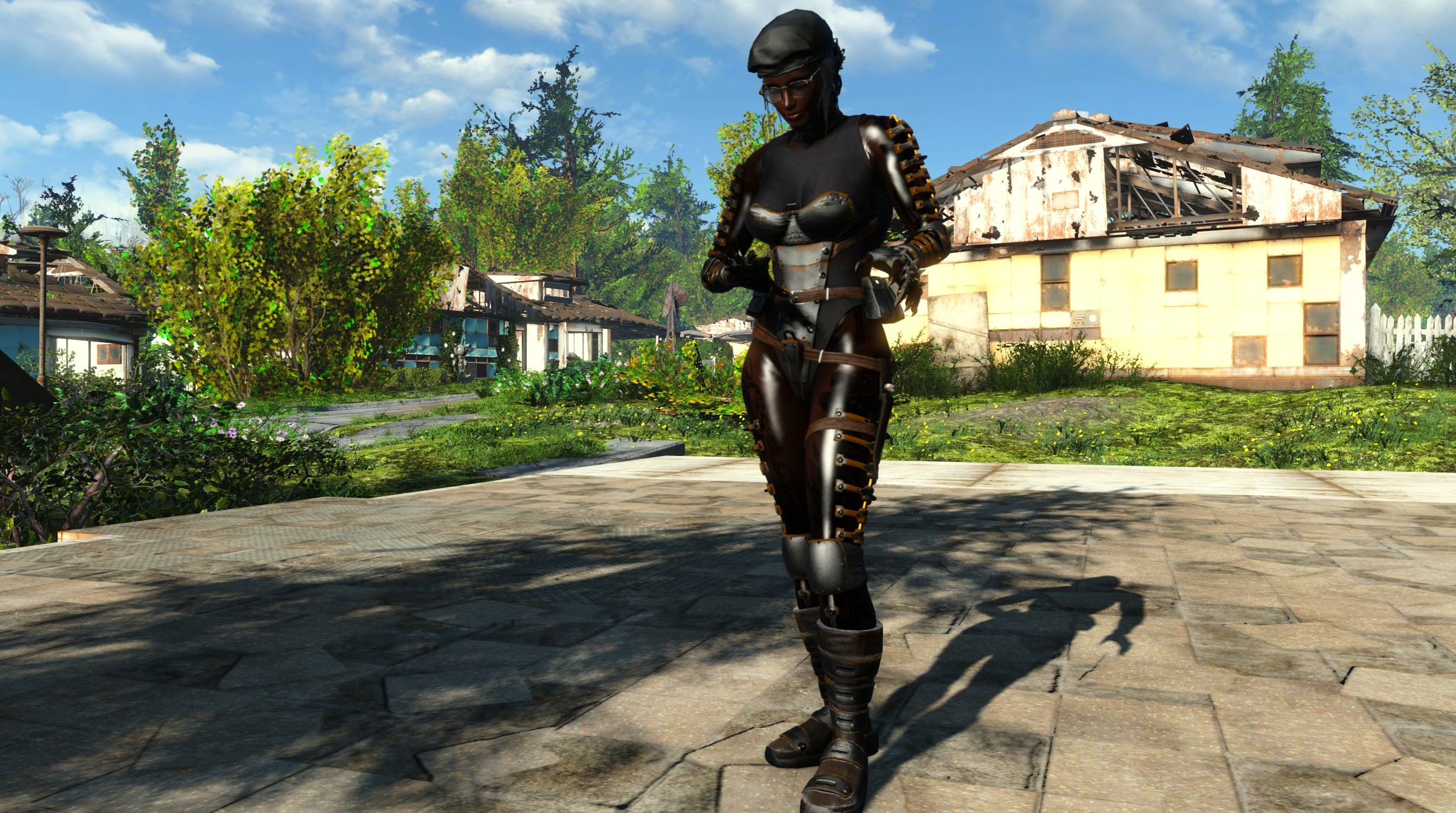 Suri Complete Clothing And Armour Mods Used At Fallout 4