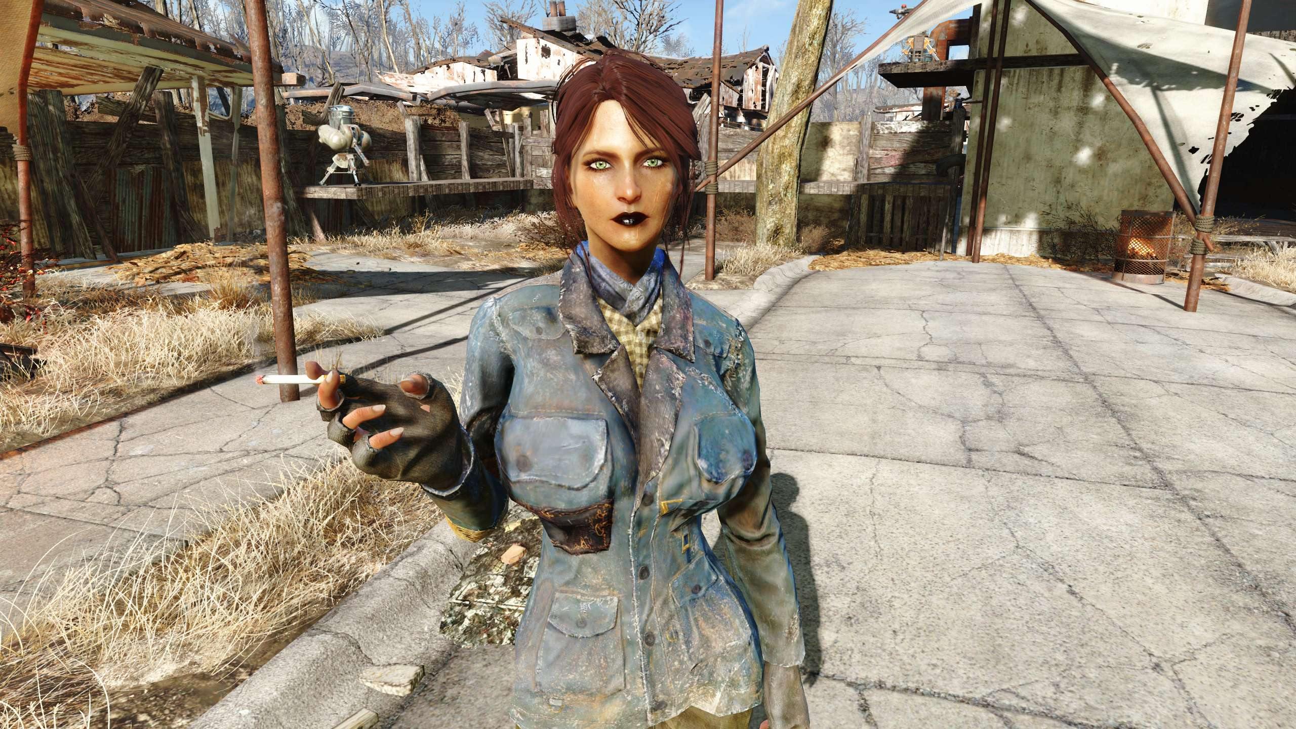 Trashcan Carla at Fallout 4 Nexus - Mods and community