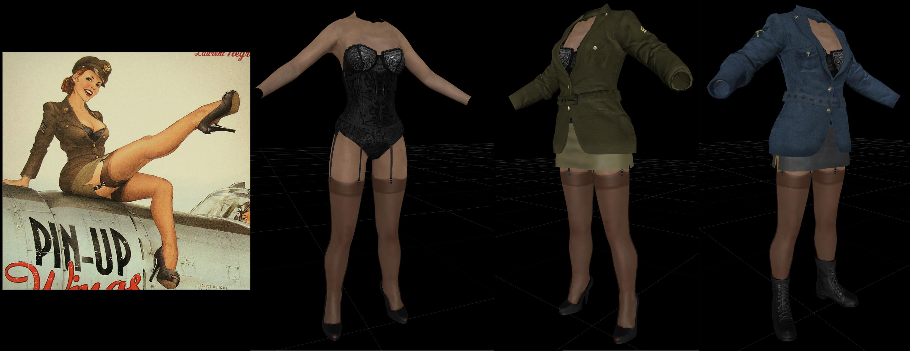 WIP Pinup Outfit