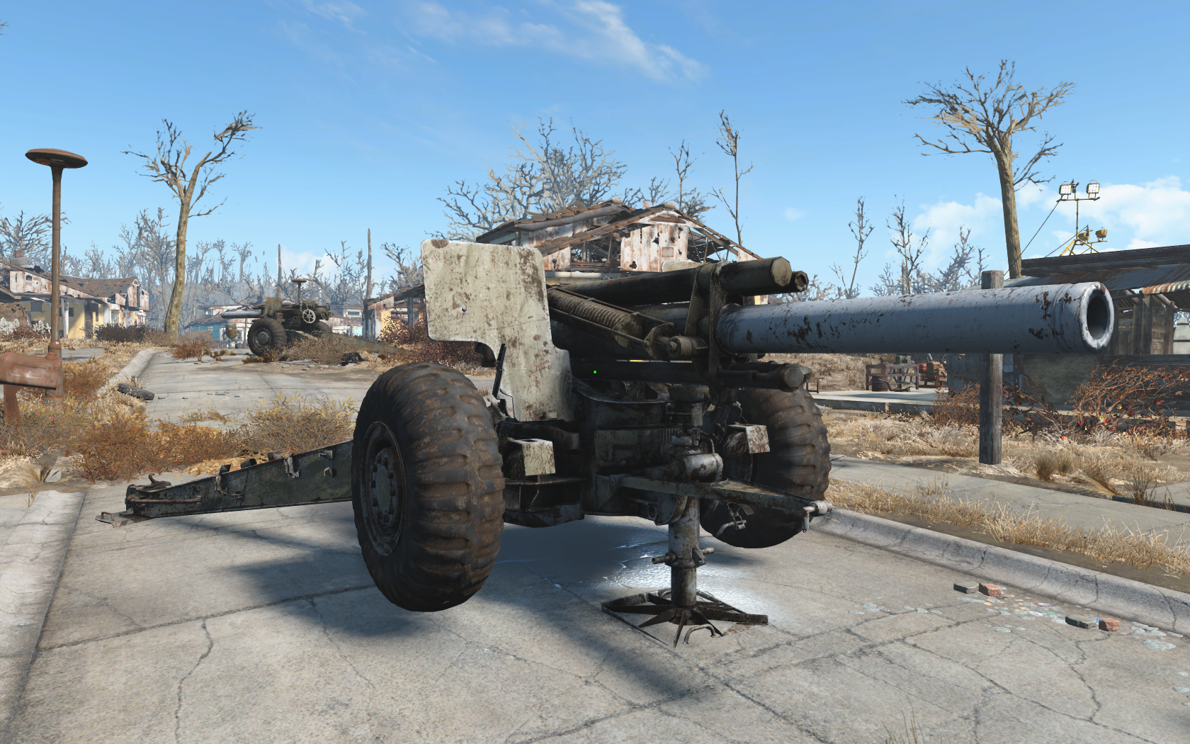 M114 155mm Howitzer WIP 7 --Updated-- at Fallout 4 Nexus