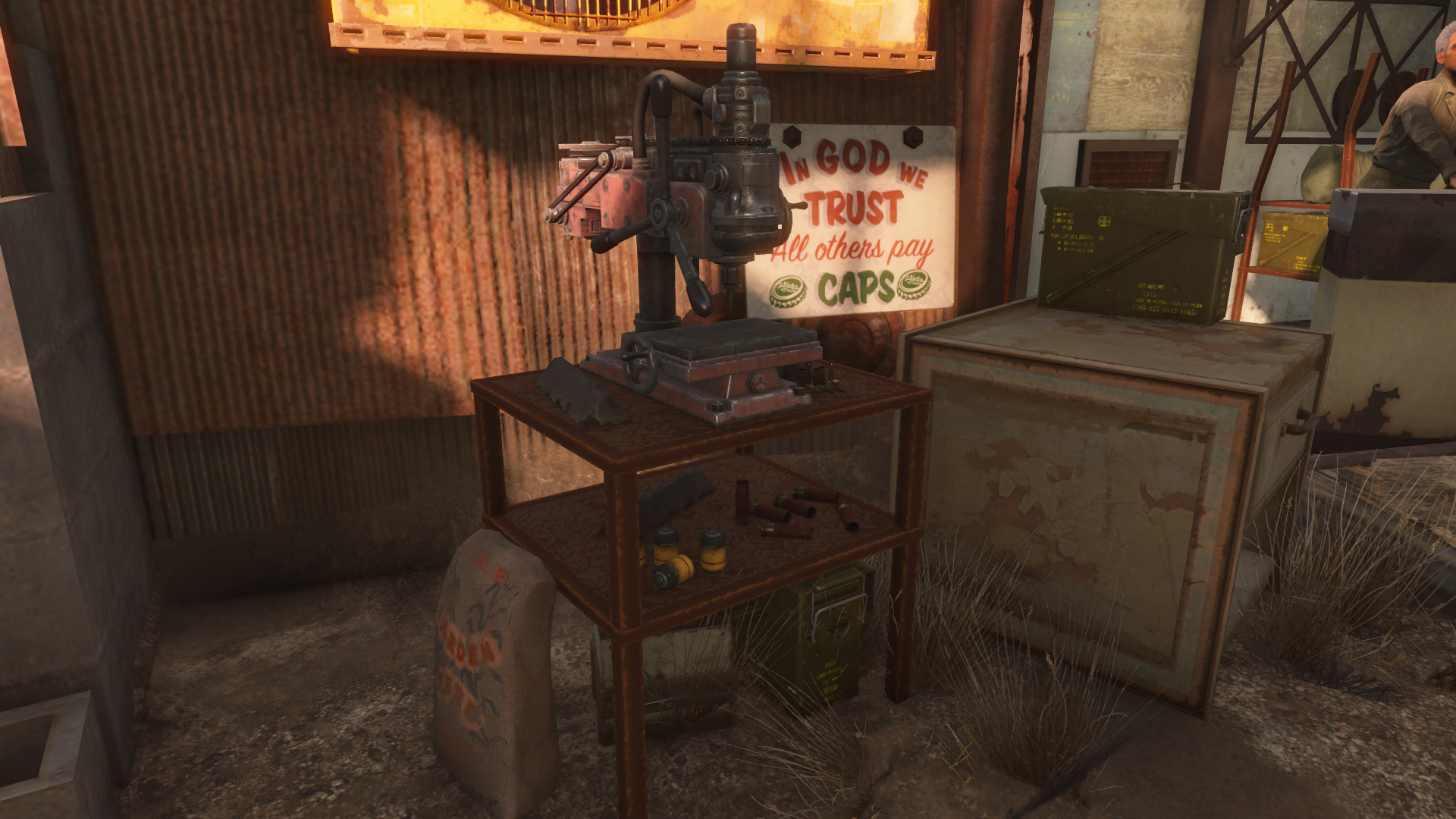 Admirable Compact Ammunition Workbench At Fallout 4 Nexus Mods And Caraccident5 Cool Chair Designs And Ideas Caraccident5Info