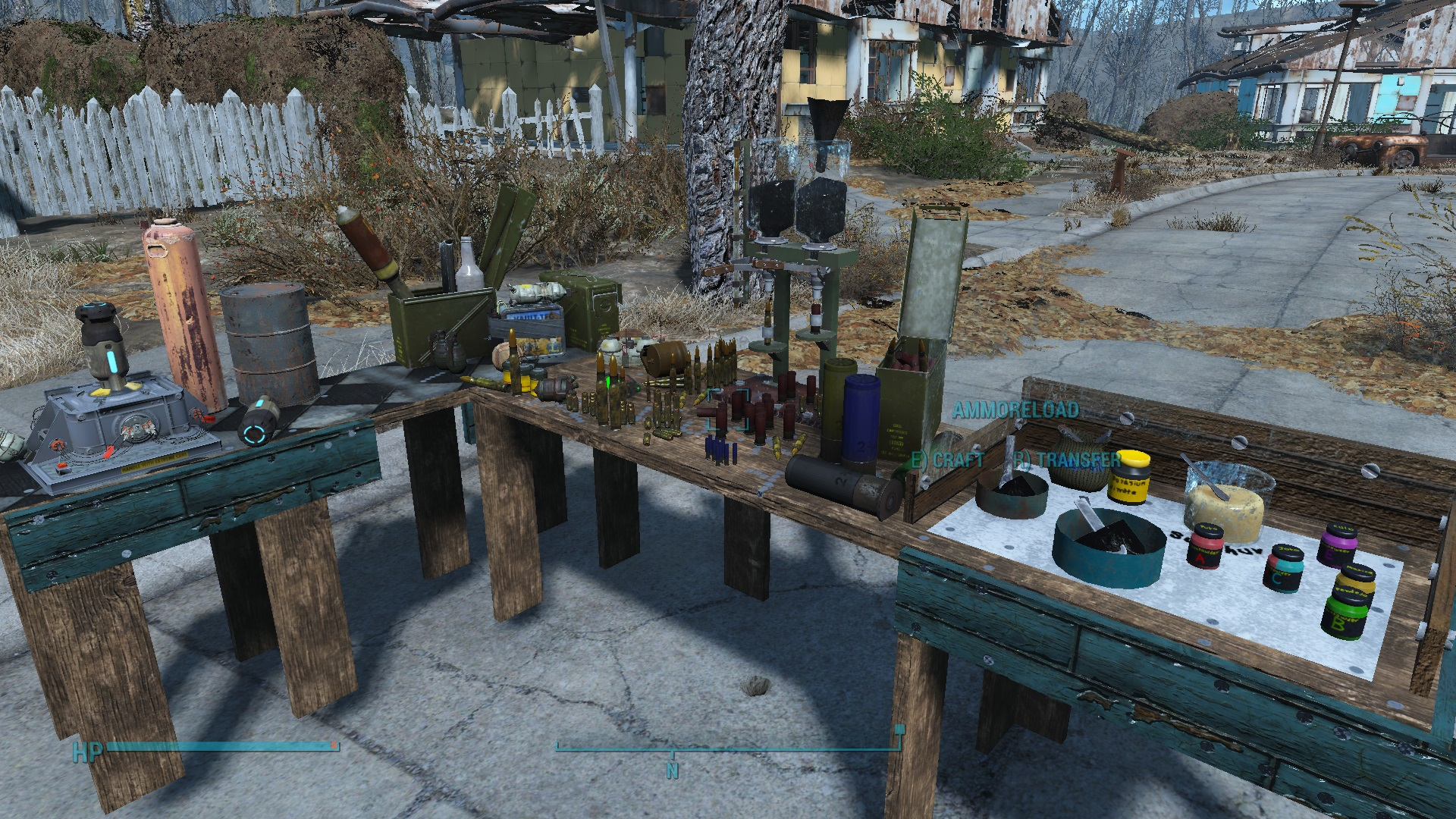 Tremendous New Ammo Crafting Workbench At Fallout 4 Nexus Mods And Caraccident5 Cool Chair Designs And Ideas Caraccident5Info