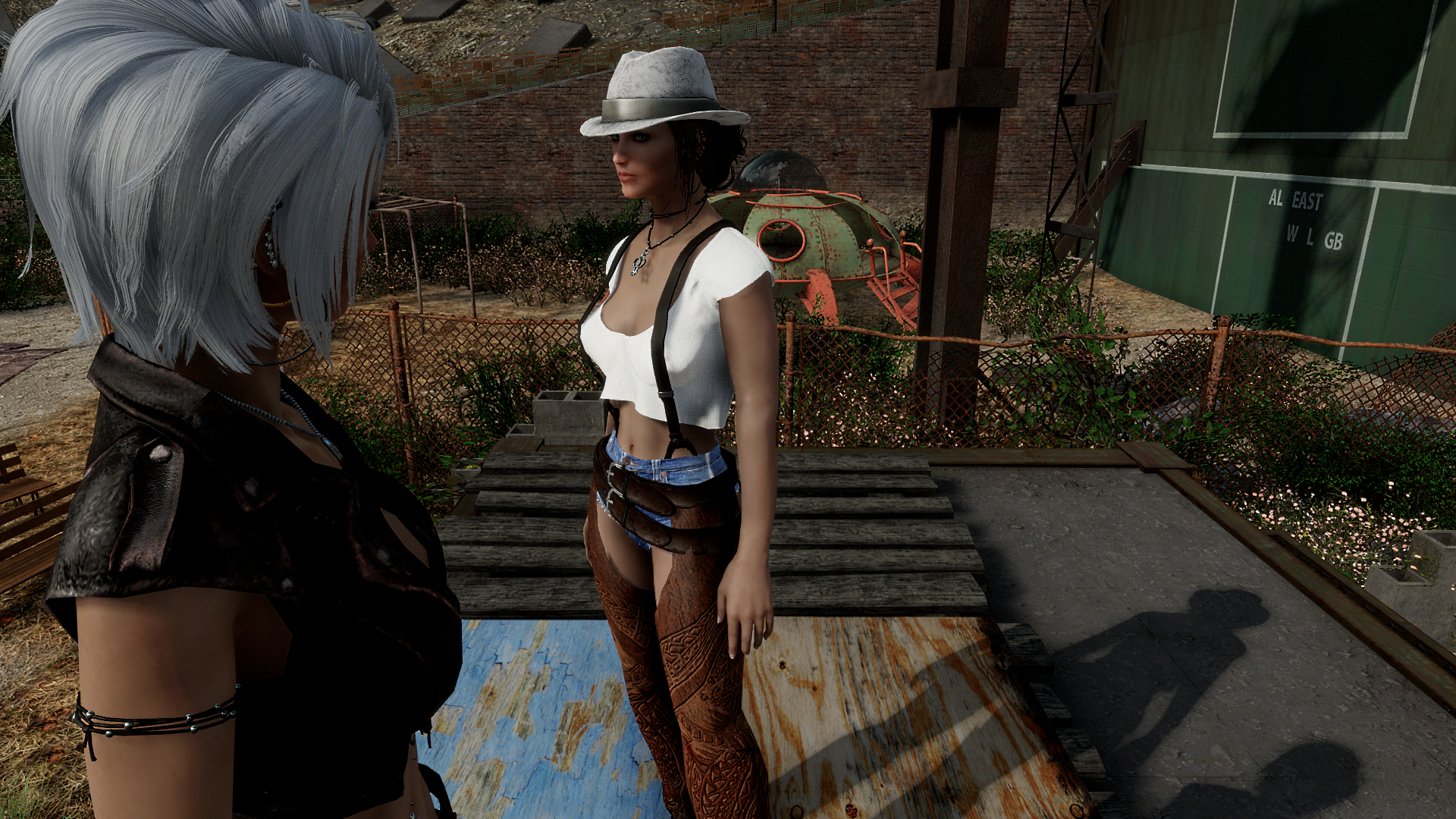 Cowgirl chaps at Fallout 4 Nexus - Mods and community