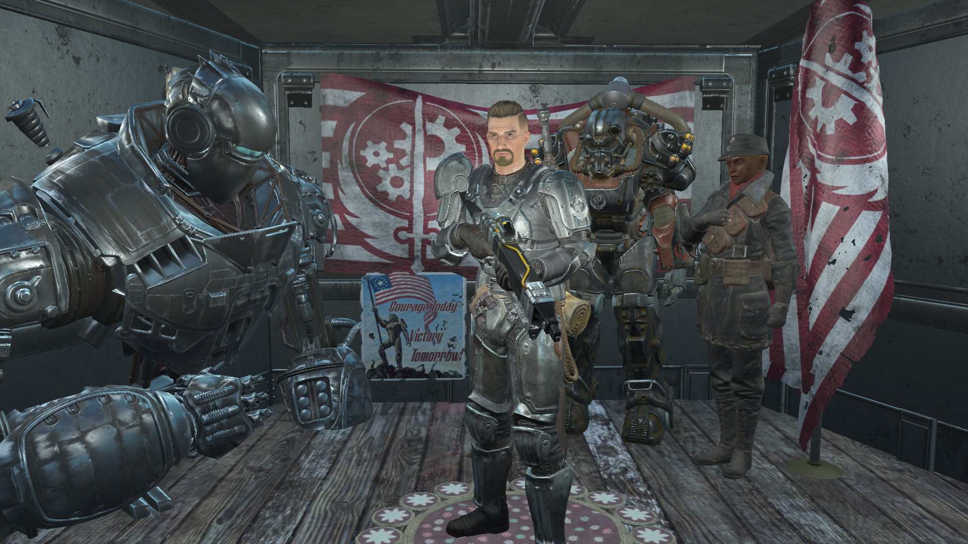 Brotherhood Of Steel Sentinel At Fallout 4 Nexus Mods And Community