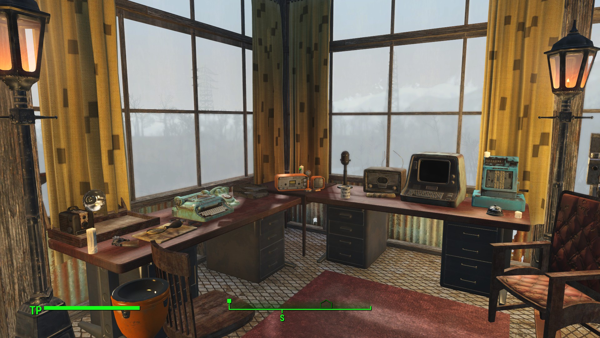 At least a nice view from my bureau at fallout nexus mods and