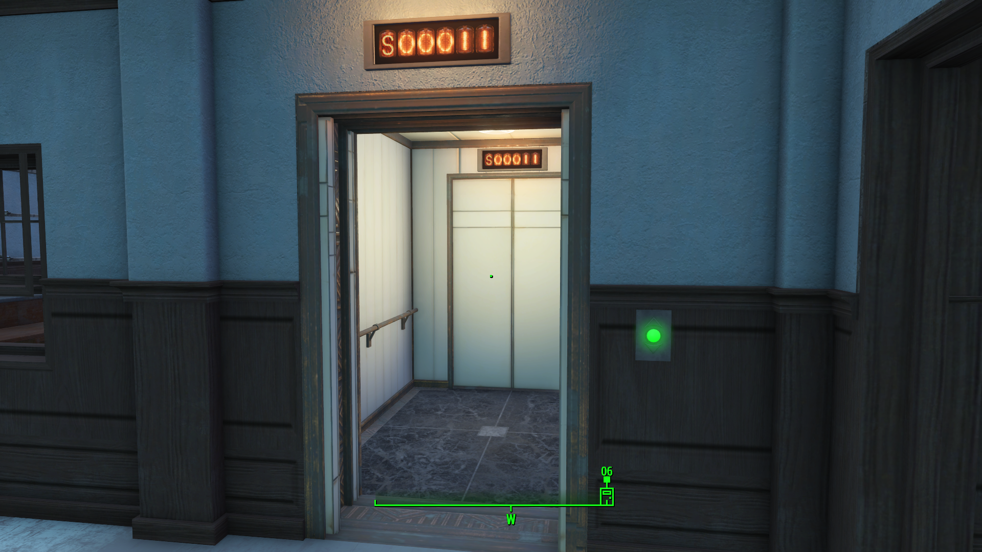 Rare Image Of NISTRON Elevator Not Working