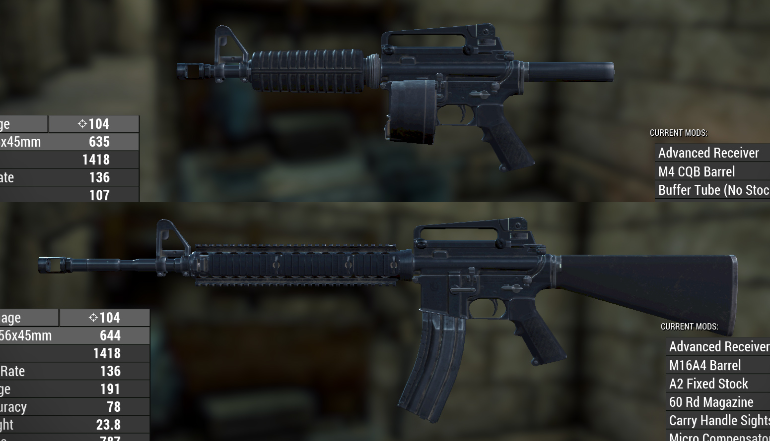 WARS WIP - AR-15 06 at Fallout 4 Nexus - Mods and community