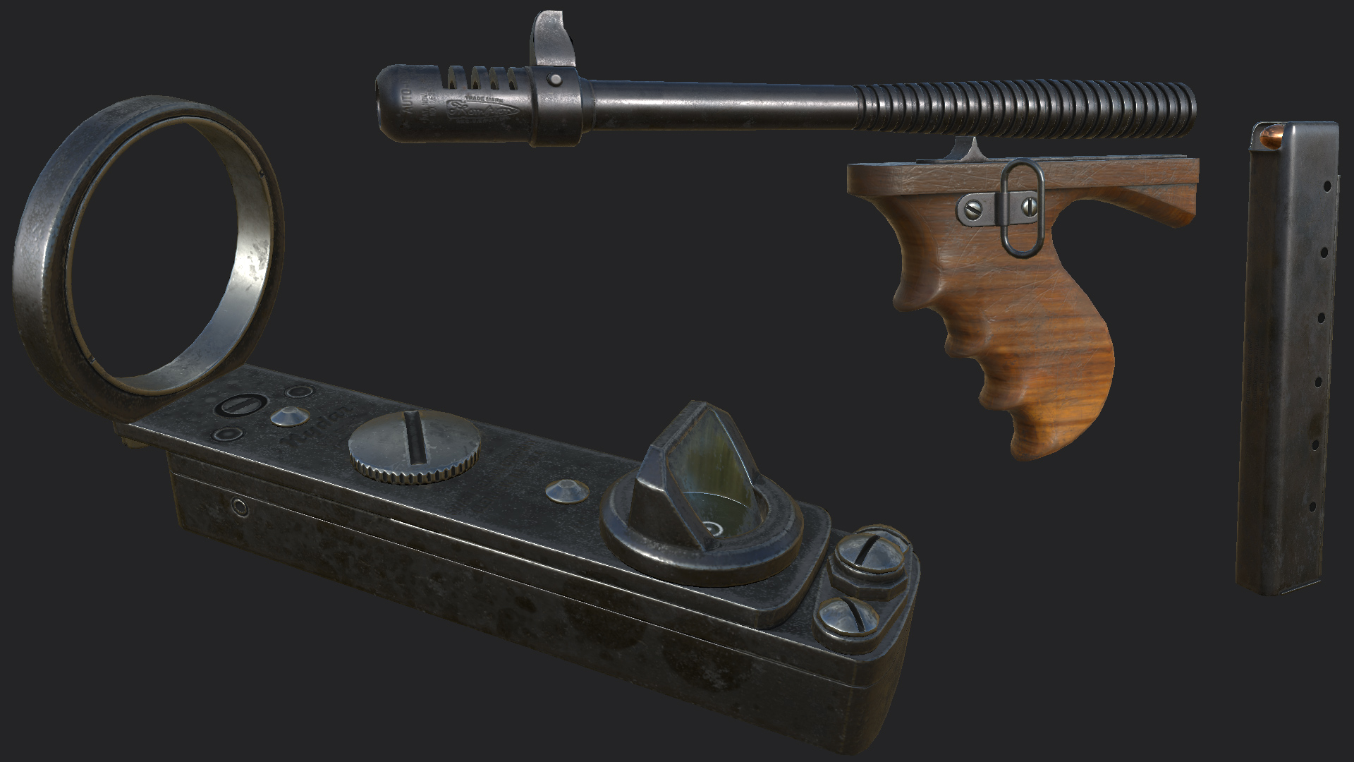 WARS WIP - Thompson SMG 02 at Fallout 4 Nexus - Mods and