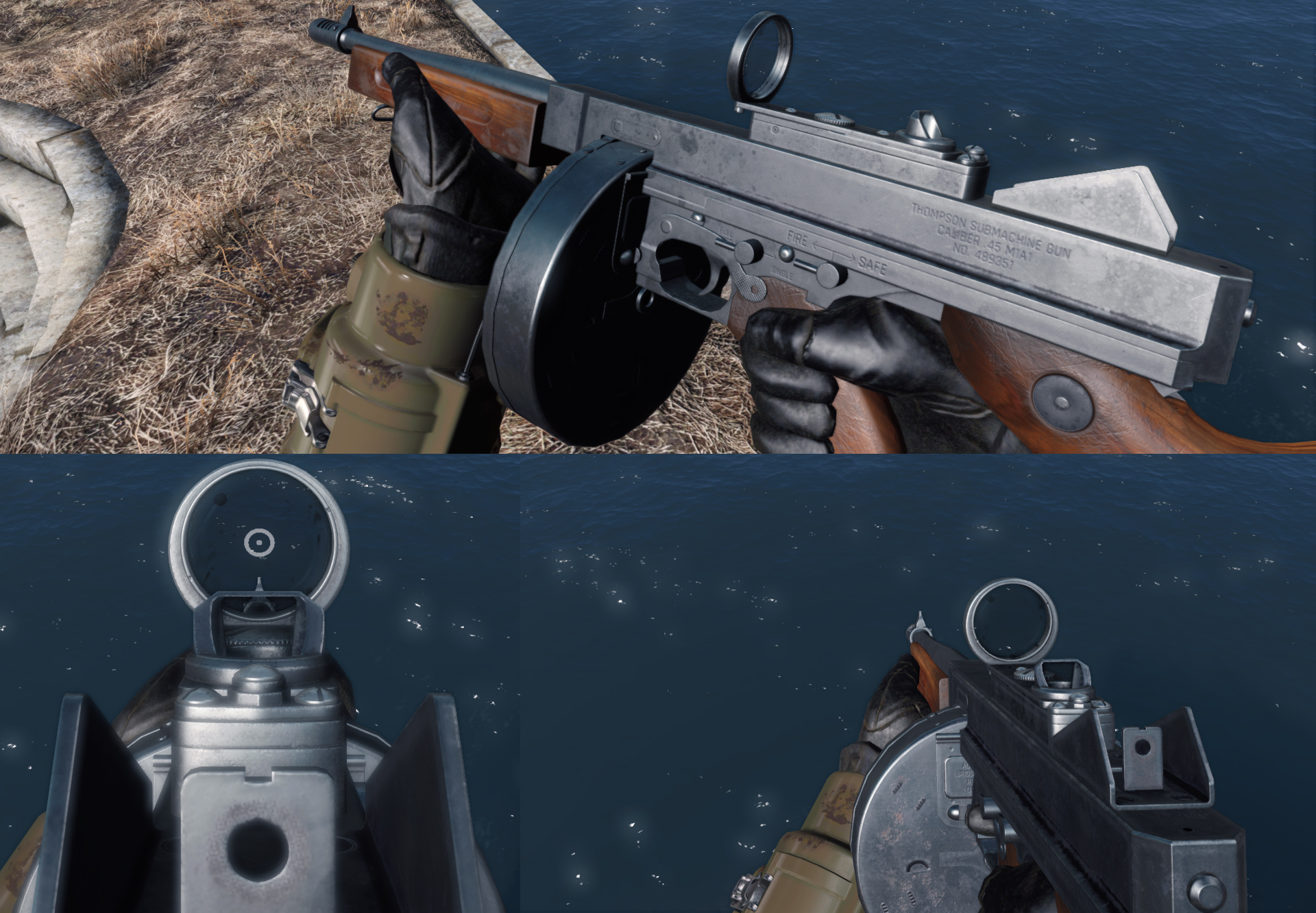 WARS WIP - Thompson SMG 07 at Fallout 4 Nexus - Mods and