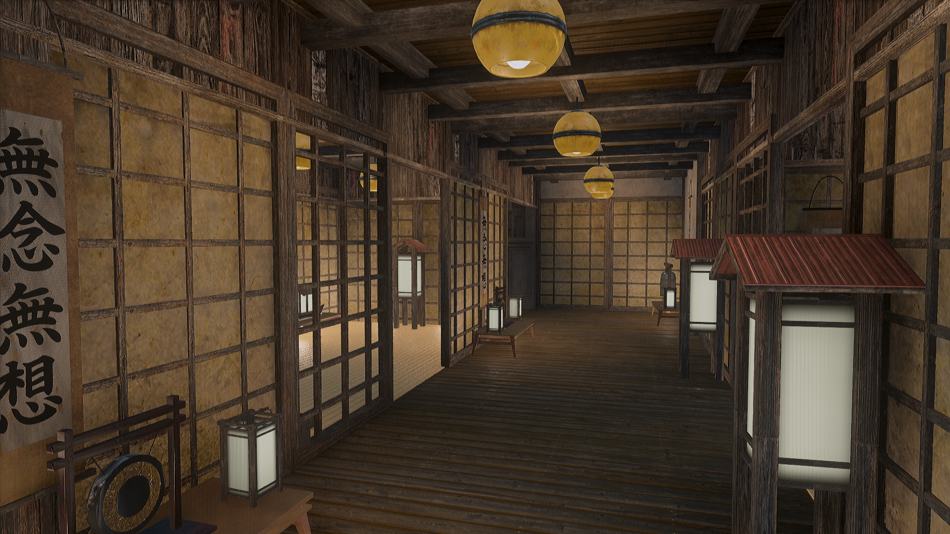 Fallout 4 Japanese Castle Interior Update 2 At Fallout 4