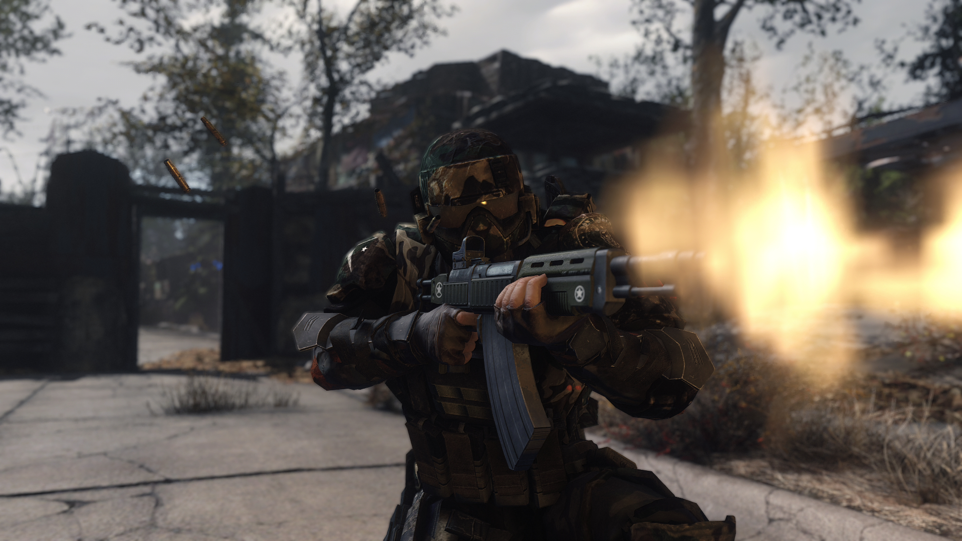 WIP Minuteman Commando Armor at Fallout 4 Nexus - Mods and