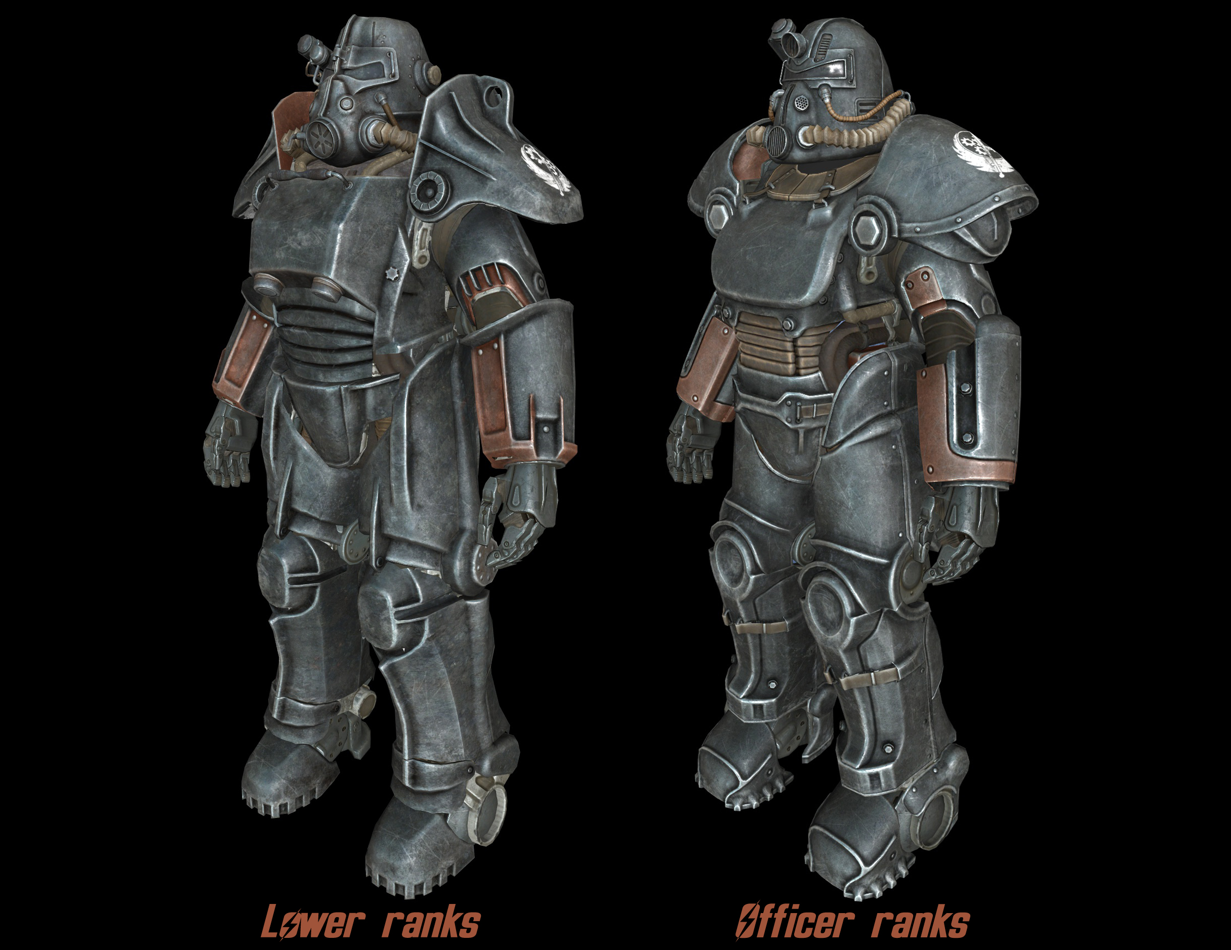 Power Armor Lore Restored Bos T 45 And T 51 At Fallout 4 Nexus