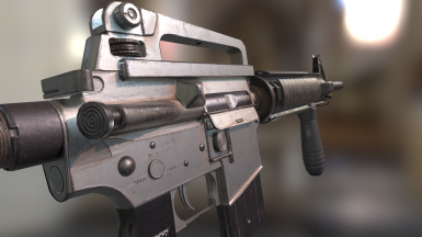 Carbine Texturing WIP