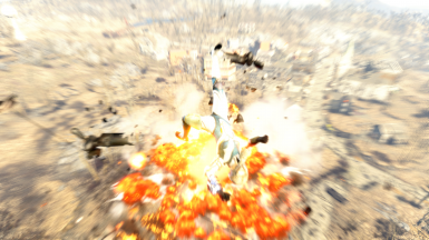 Testing a mod isn't always fun and games - Sometimes it's also BIG EXPLOSIONS