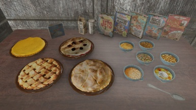 Pies and Cereal