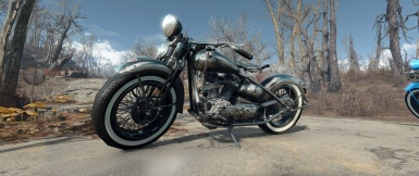 Fallout 4 Motorcycle Replacement NEW