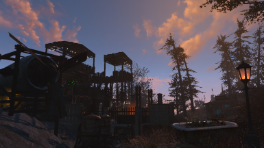 Calderia Outpost In The Morning