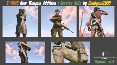 Service Rifle for Visible Weapons Addon Series - Release