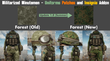 MM - Uniforms Addon - Summer Update - Forest Camouflage Replacement