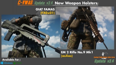 C-VWAS Update - EM2 and FAMAS
