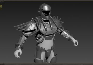 Fallout 3 style metal armor-Capital Wasteland