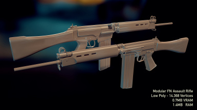 Potential FN Fal Assault Rifle Mod