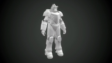 T 51C Airforce Power Armor
