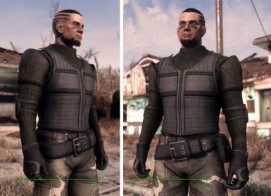 Male Tac Armor