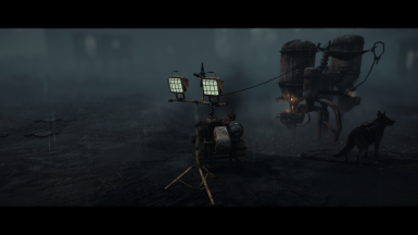Rainy Day in the Wasteland
