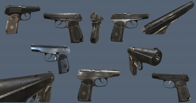 Makarov additional skins