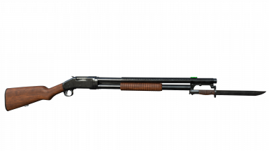 Winchester M1897 - WIP