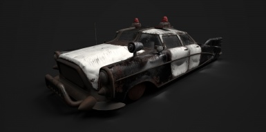 Fallout Cascadia - Police Car Retexture Project