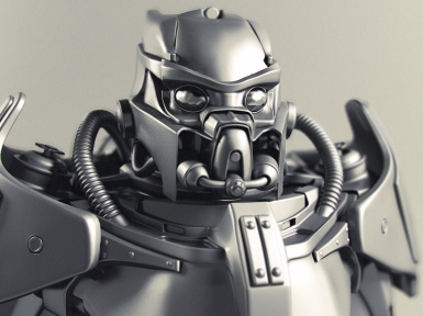 Enclave X-02 Power Armor Character