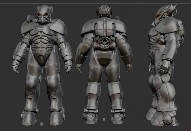 Midwestern Power Armor WIP 1
